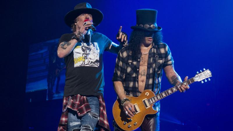 Guns N'Roses arbeiten an neuen Songs