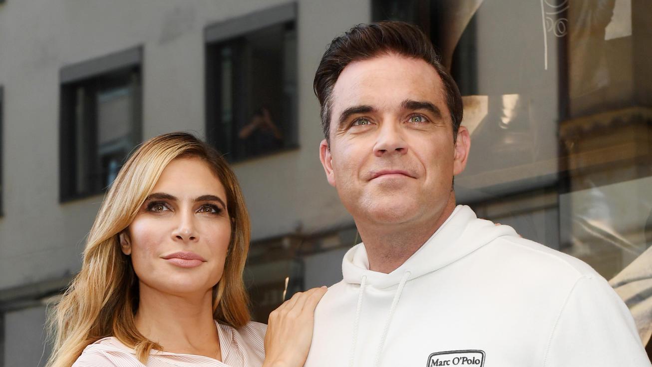 Noch ein Baby für Robbie Williams und Ayda Field