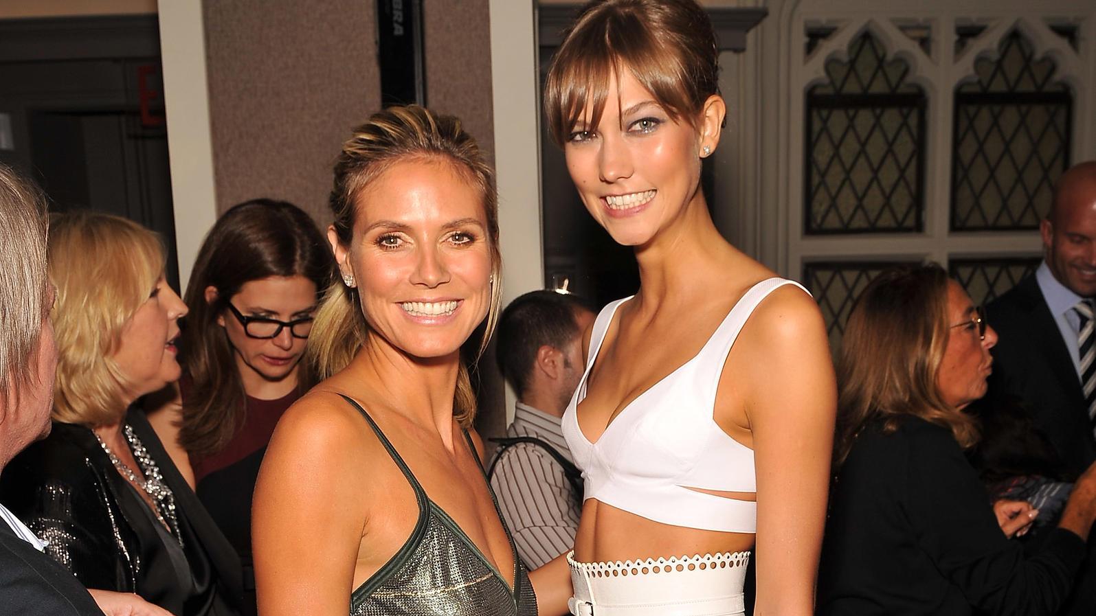 Heidi Klum und Karlie Kloss
