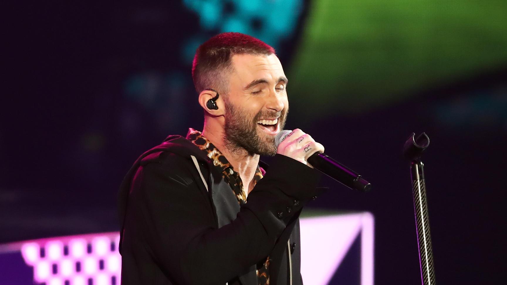 Finale der NFL - Maroon 5 liefern Halbzeitshow beim Super Bowl