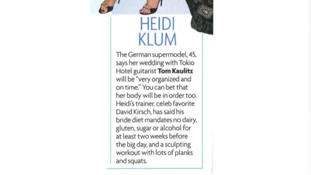 Heidi Klum äußert sich endlich zu den Schwangerschaftsgerüchten