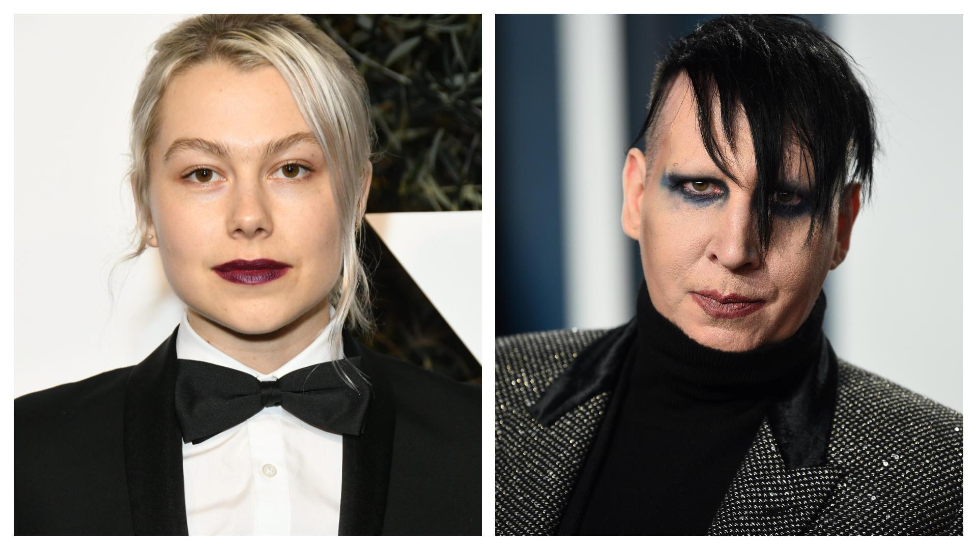 """Prahlte Marilyn Manson vor Sängerin Phoebe Bridgers mit """"Vergewaltigungszimmer""""? - VIP.de, Star News"""