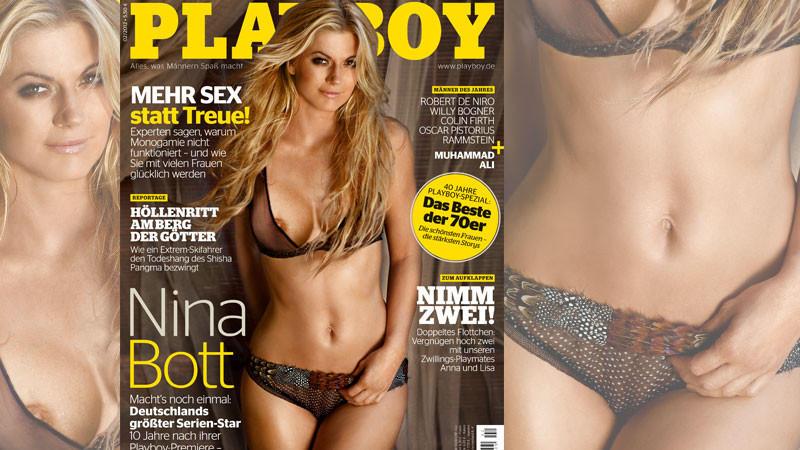 Bott nackt playboy nina Nina Bott