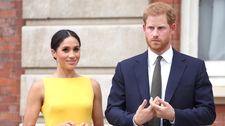 Prinz Harry und Herzogin Meghan auf royaler Flucht - Trailer zum neuen Film erschienen