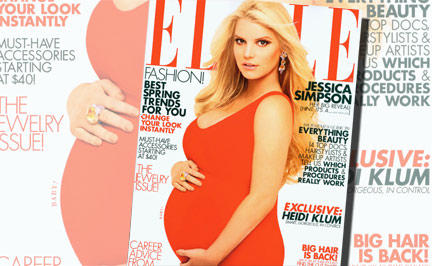 Fürze und Schwangerschafts-Sex: Simpson nervt mit Baby-PR