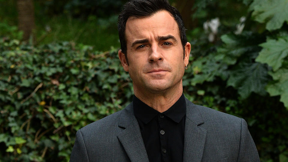 US actor Justin Theroux poses during