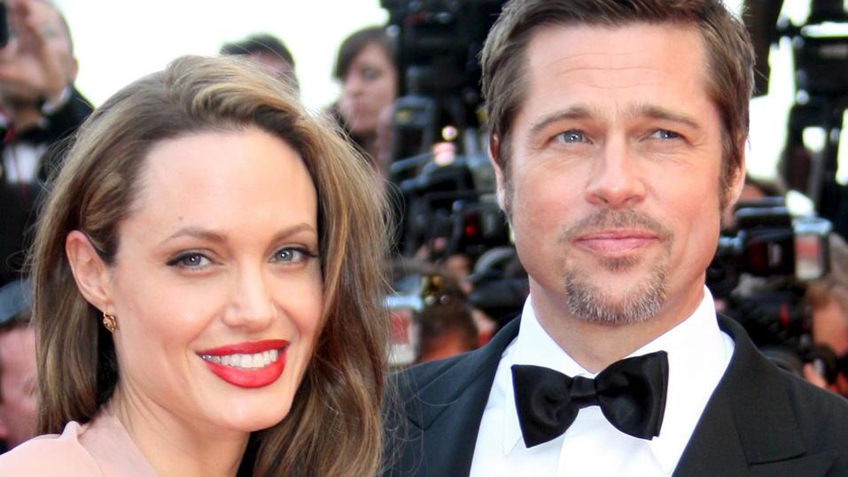 So nah wohnen Angelina Jolie und Brad Pitt beieinander - VIP.de, Star News