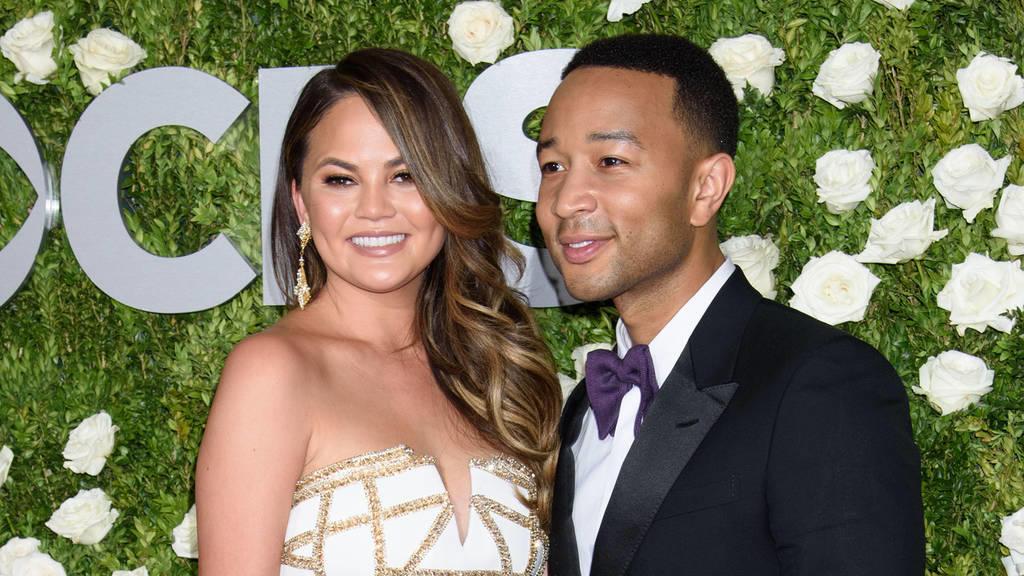 Chrissy Teigen und John Legend erwarten zweites Kind