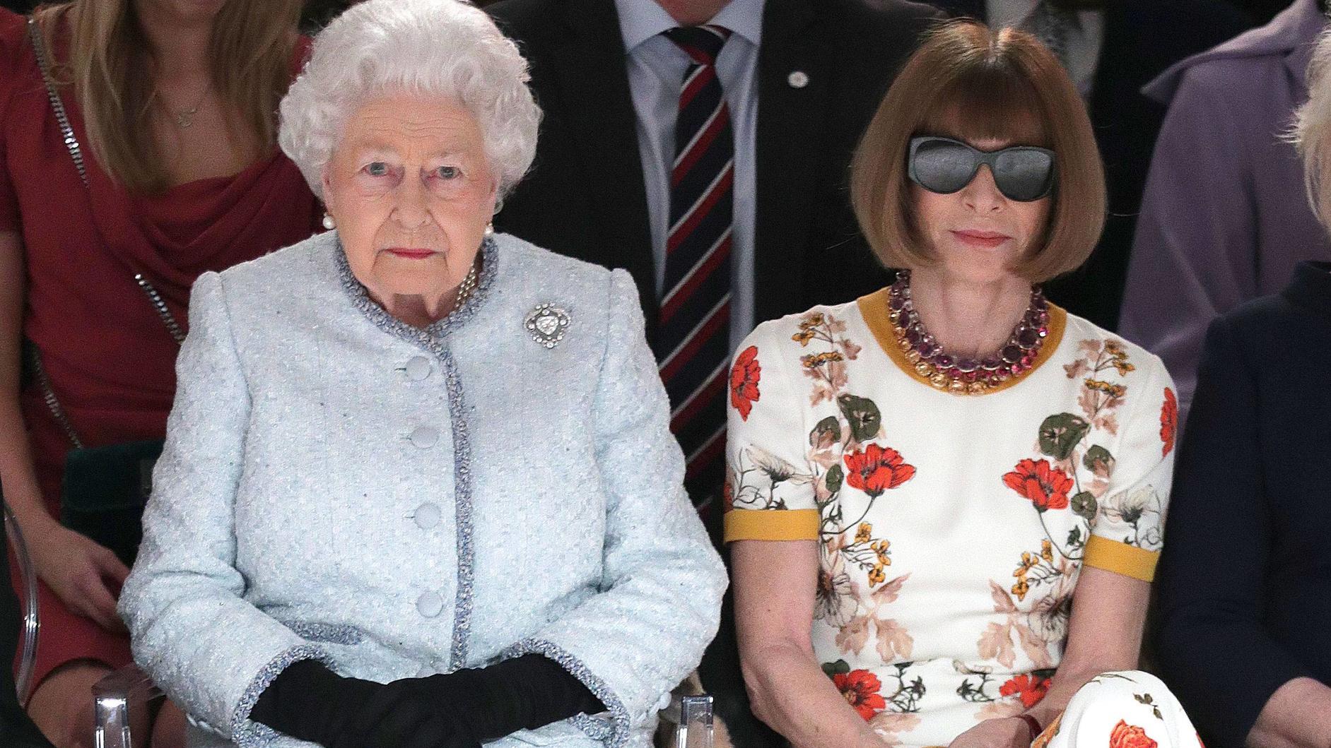 Queen stattet Londoner Fashion Week Besuch ab