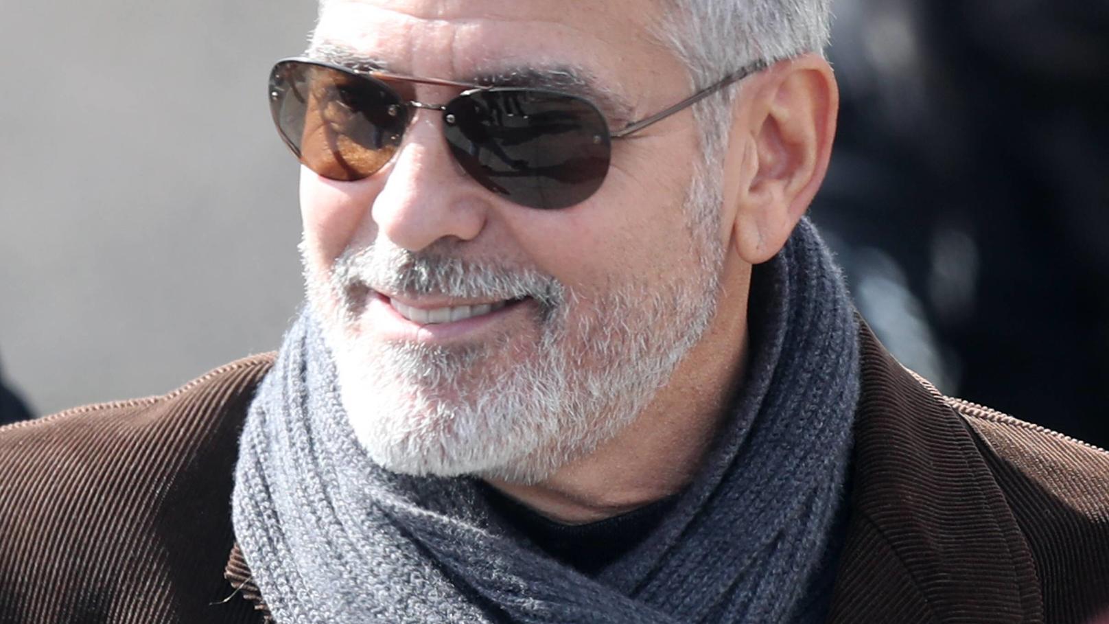 George Clooney hat das Krankenhaus bereits verlassen