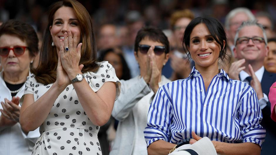 Herzogin Meghan: Fashion-Fauxpas in Wimbledon