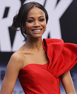 Zoe Saldana Interview Star Trek