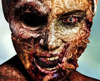 Prominente Zombies, Photoshop, Zombie