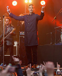 Robbie Williams Konzert Berlin 2009