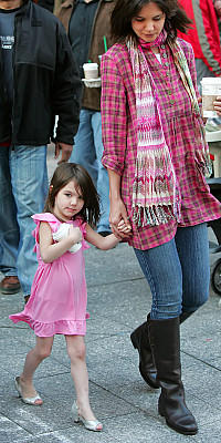 Suri Cruise High Heels Part 2
