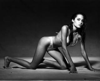 Angelina Jolie Model modelt 15 Jahre alt Jugendfotos