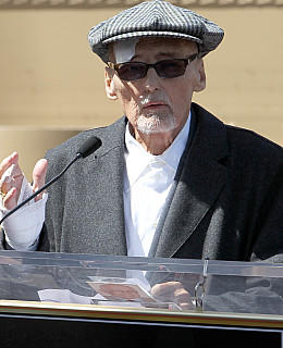Dennis Hopper Walk of Fame Hollywood Stern Star