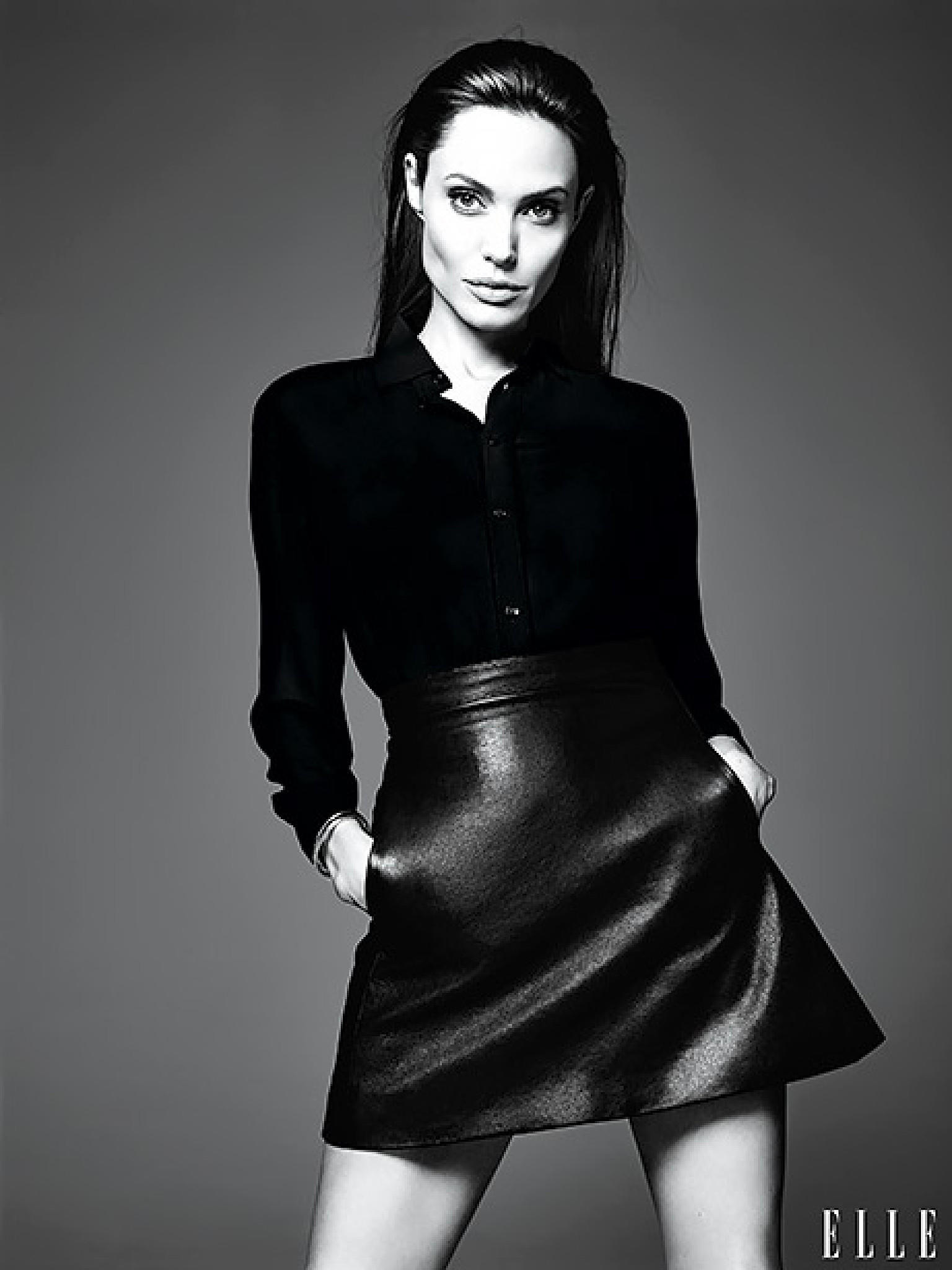 angelina jolie cover elle interview juni 2014