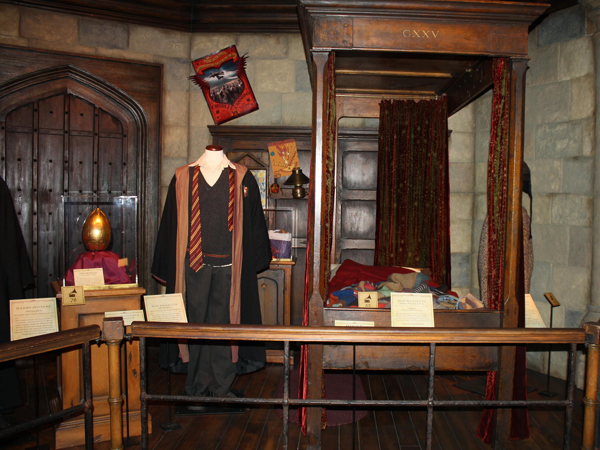 Harry Potter - The Exhibition: Auf den Spuren des Zaubererlehrlings