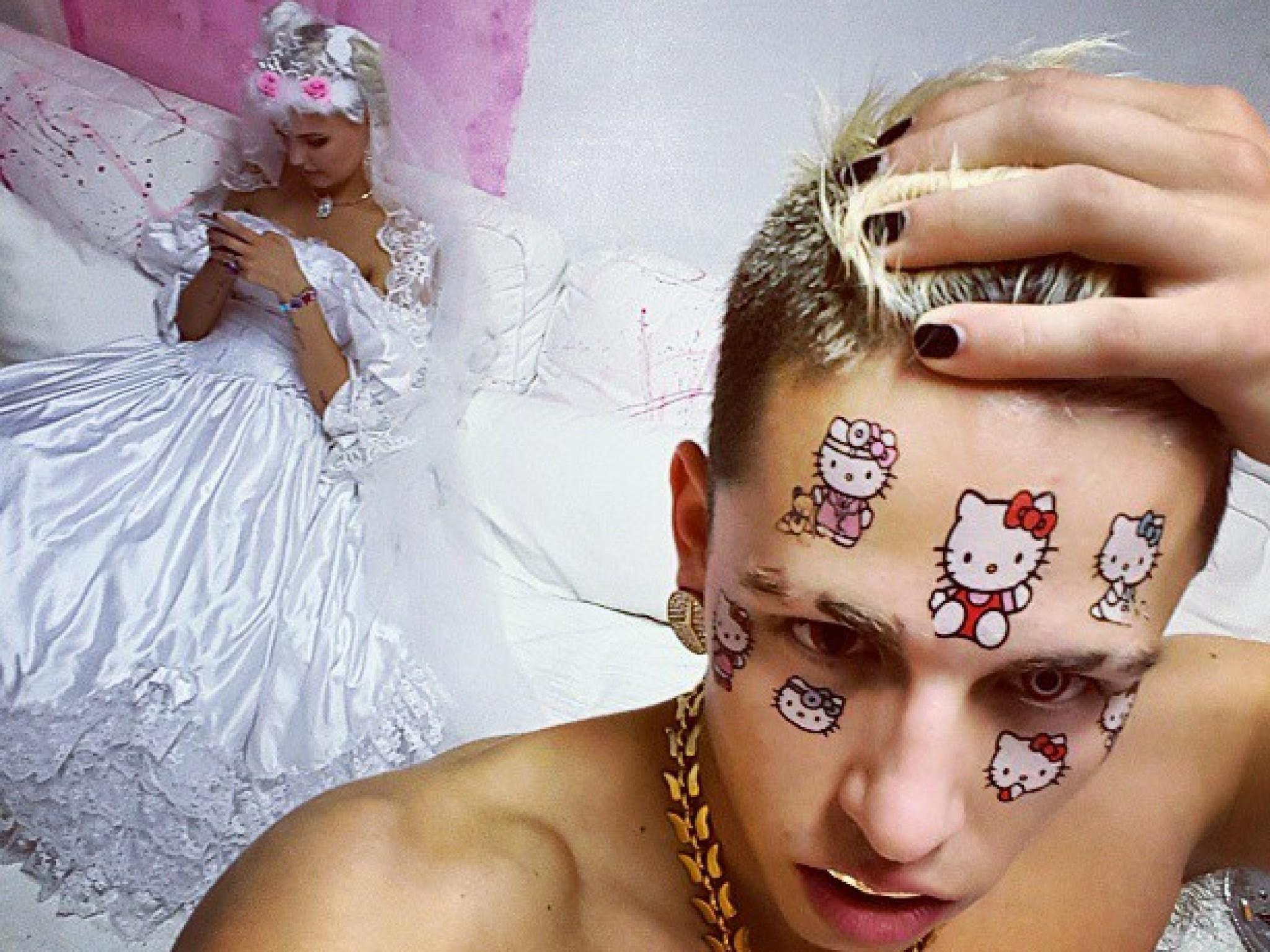 Bonnie Strange Im Brautkleid Hat Sie Wieder Geheiratet
