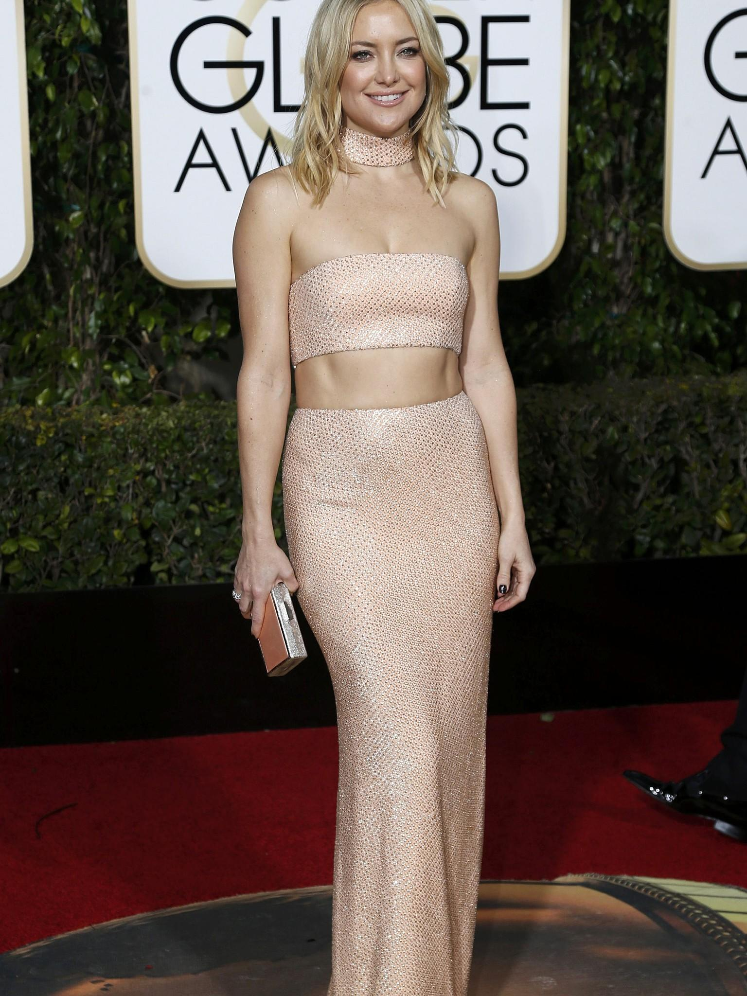 Golden Globes 2016 Kleider Top Flop