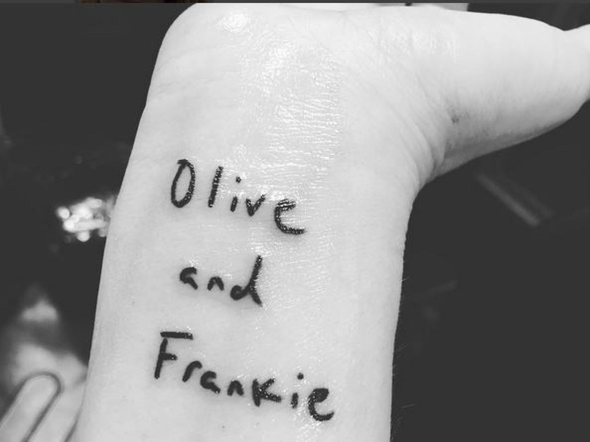Das geht unter die Haut: Die Tattoos der Stars - Tattoo Unterarm Klein