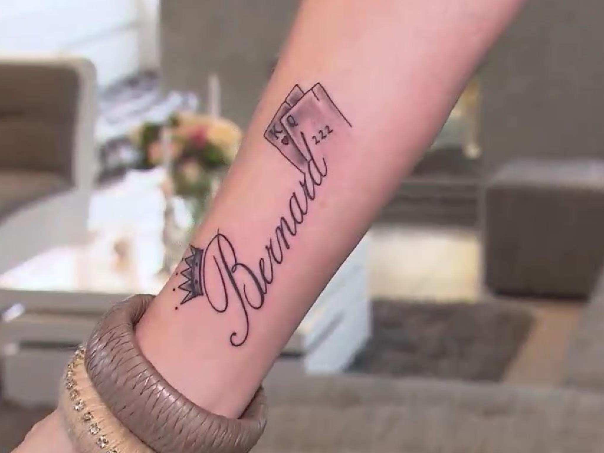 Das geht unter die Haut: Die Tattoos der Stars - Tattoo Handgelenk Frau