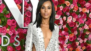 Kerry Washington wollte bei den Tony-Awards festlich ...