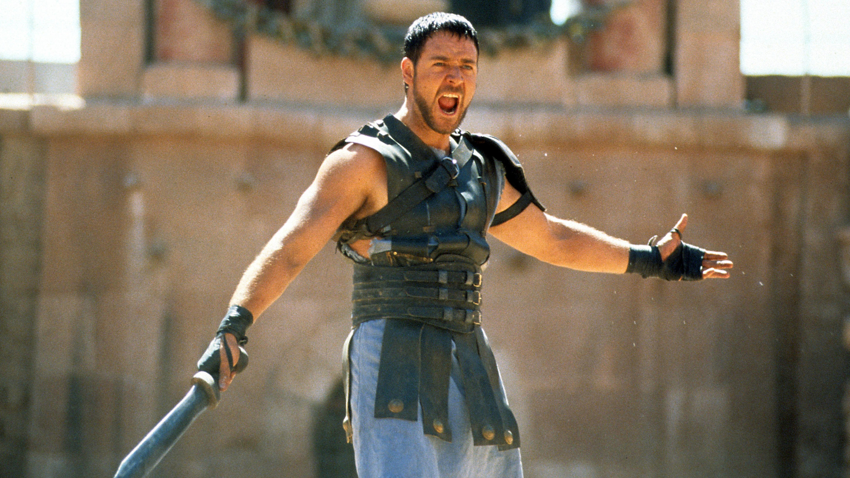 "Russell Crowe in ""Gladiator"" (2000)"