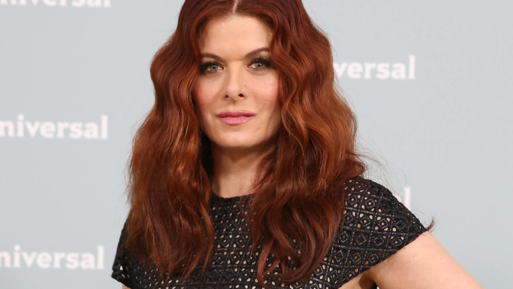 May 13, 2018 - New York, N.Y, USA - DEBRA MESSING attends the NBC Universal 2018 Upfront,.Radio City Music Hall, NYC.May 14, 2018 .Photos by , Globe Photos Inc. New York USA PUBLICATIONxINxGERxSUIxAUTxONLY - ZUMAms4_ 20180513_zaa_ms4_053 Copyright: x