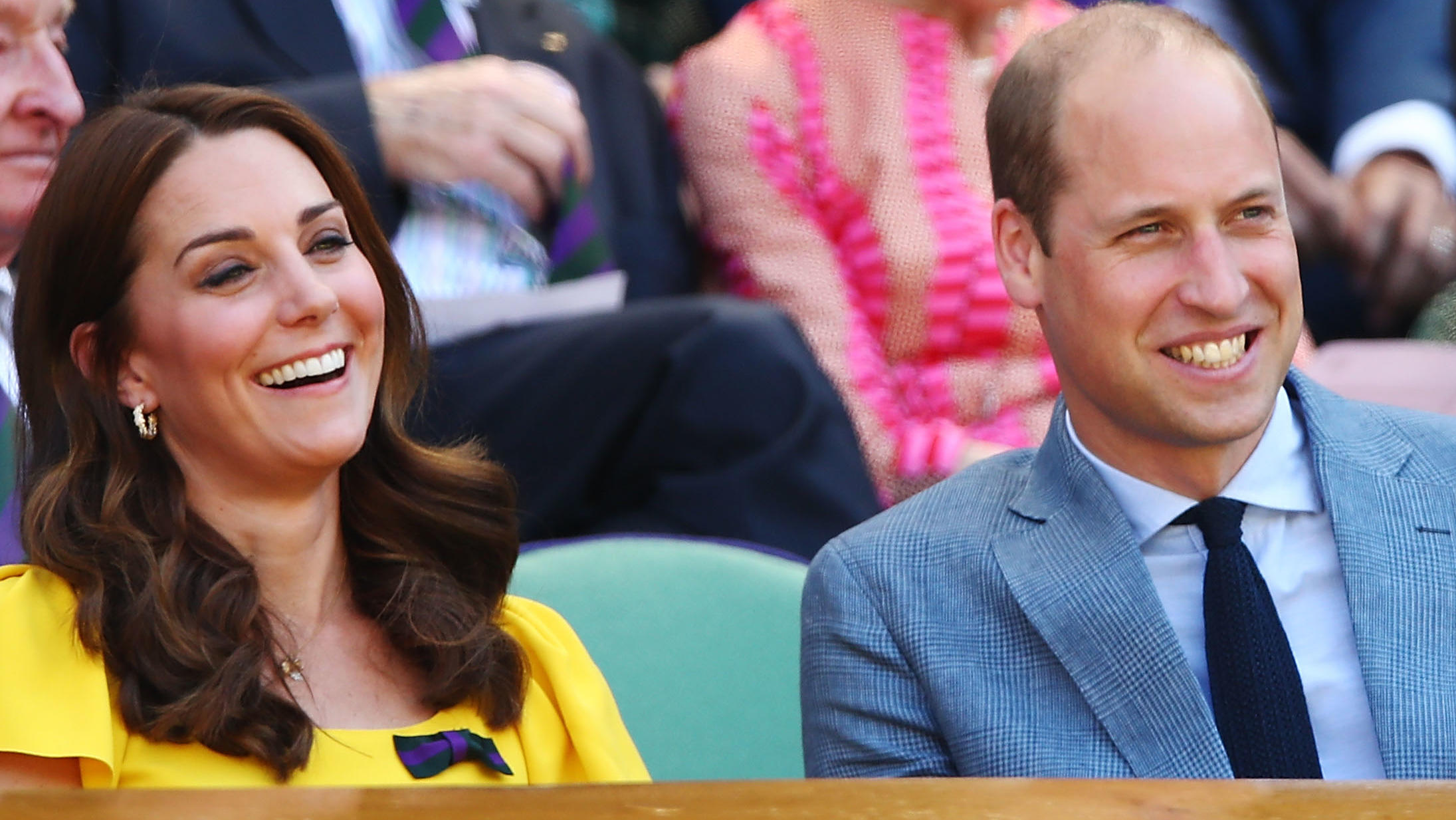 Herzogin Kate und Prinz William in Wimbledon