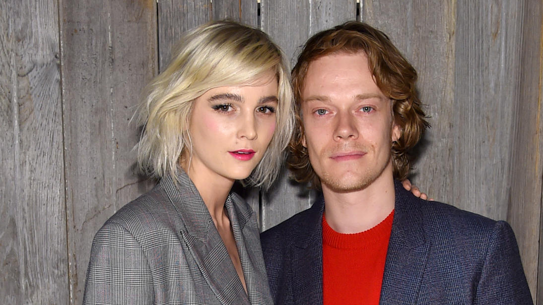 DJane Allie Teilz und Alfie Allen bei der Fashion Week New York am 13. Februar 2018