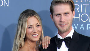 Kaley Cuoco endlich auf romantischer Honeymoon-Reise