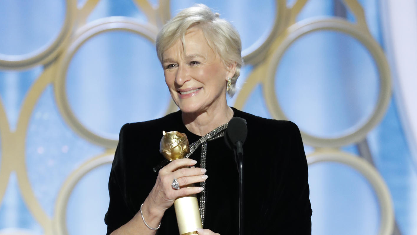 "Glenn Close bei den ""Golden Globes 2019"""