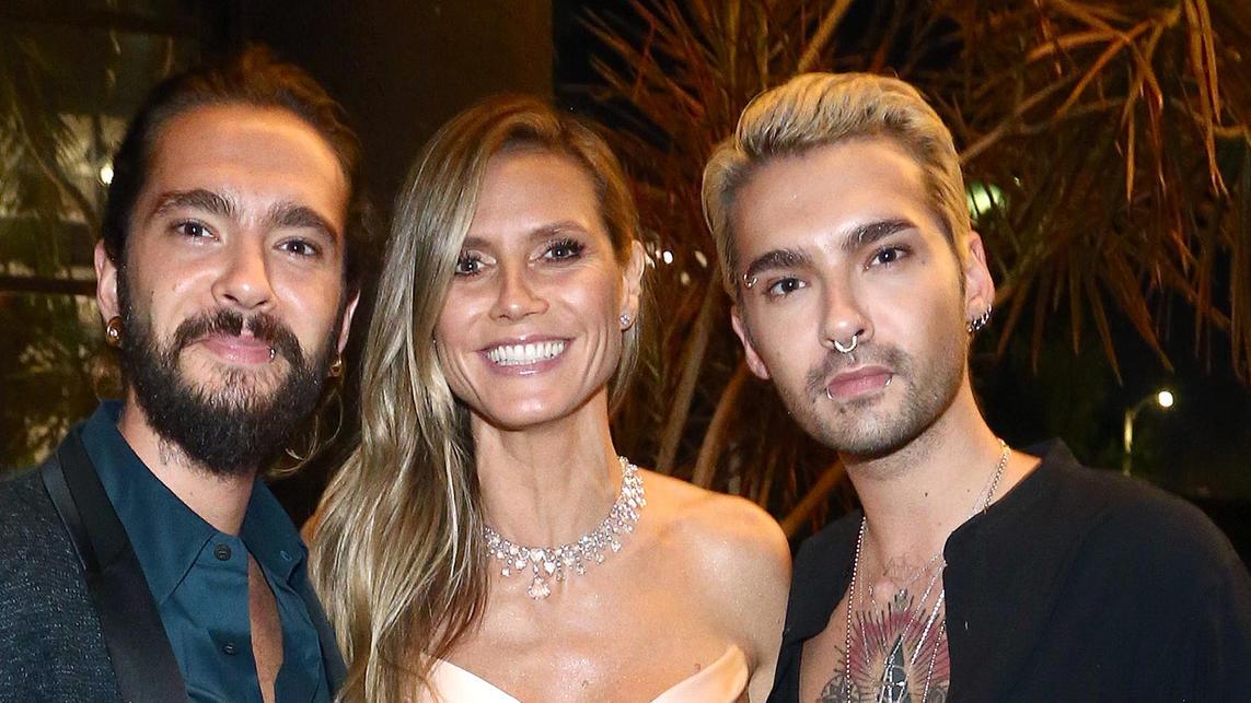 Heidi Klum Zeigt Tom Bill Kaulitz Bei Sexy Oben Ohne Shoot