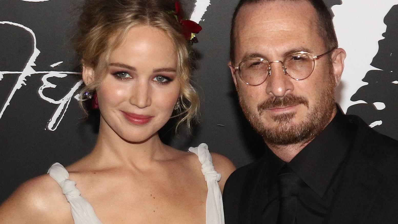 September 13, 2017 - New York, New York, U.S. - Actress JENNIFER LAWRENCE and director DARREN ARONOFSKY attend the New York premiere of Mother! held at Radio City Music Hall. New York U.S. PUBLICATIONxINxGERxSUIxAUTxONLY - ZUMAk03_ 20170913_zaf_k03_0