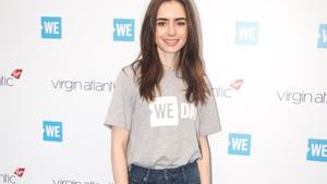 Lily Collins liebt Filmmarathons