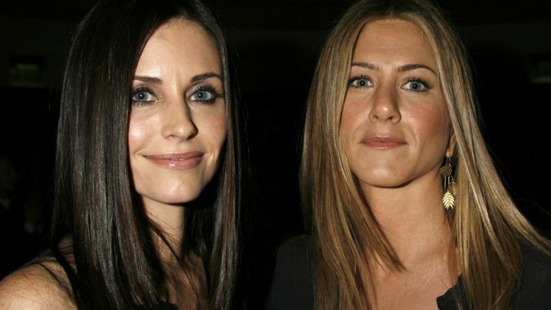 Jennifer Aniston und Courteney Cox: Notlandung!