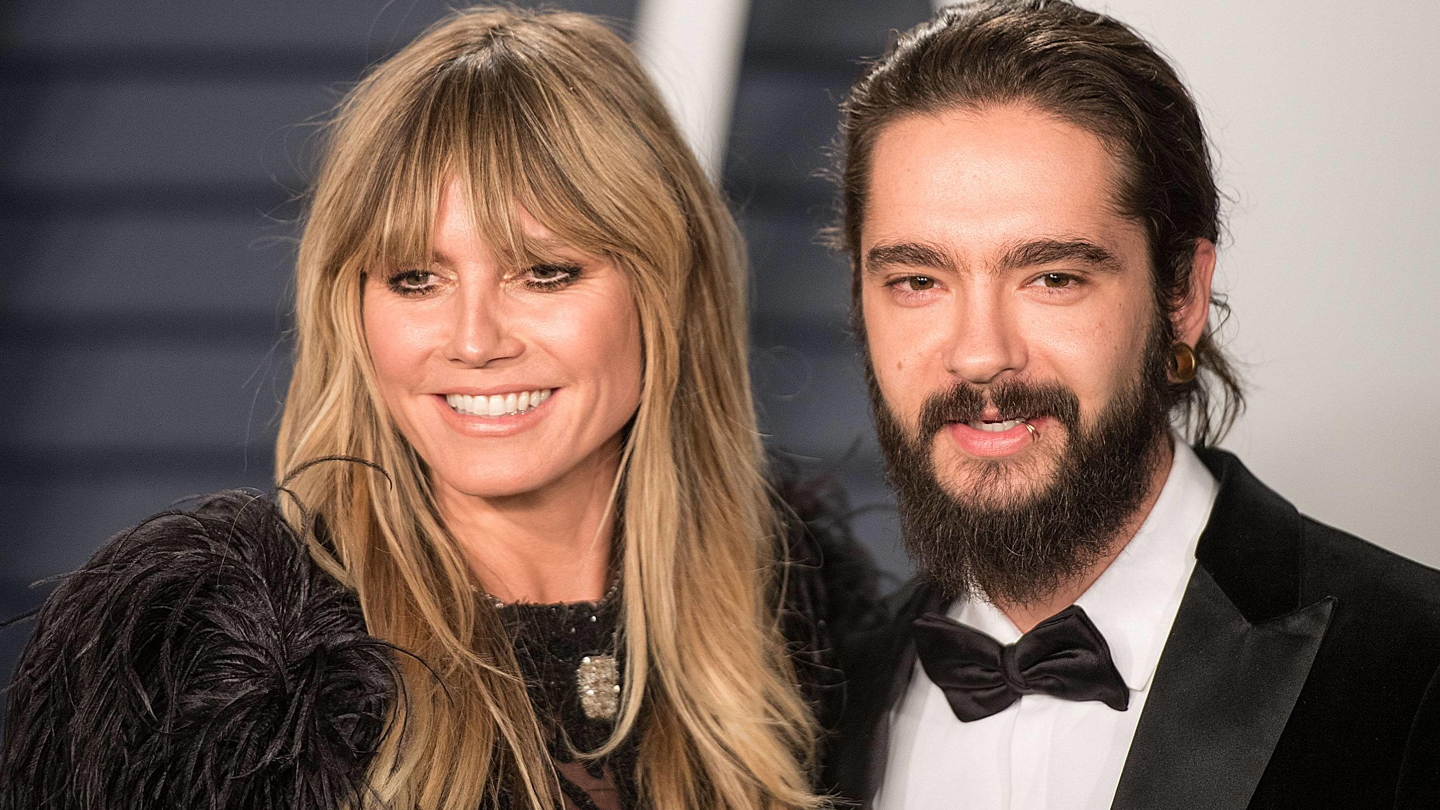 February 24, 2019 - Beverly Hills, California, United States of America - Heidi Klum (L) and Tom Kaulitz at the 2019 Vanity Fair Oscar Party held at the Wallis Annenberg Center in Beverly Hills, California on Sunday February 24, 2019. JAVIER ROJAS/PI