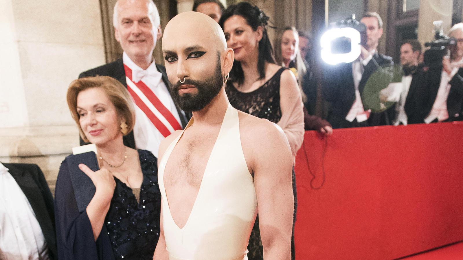 Conchita Wurst Opernball