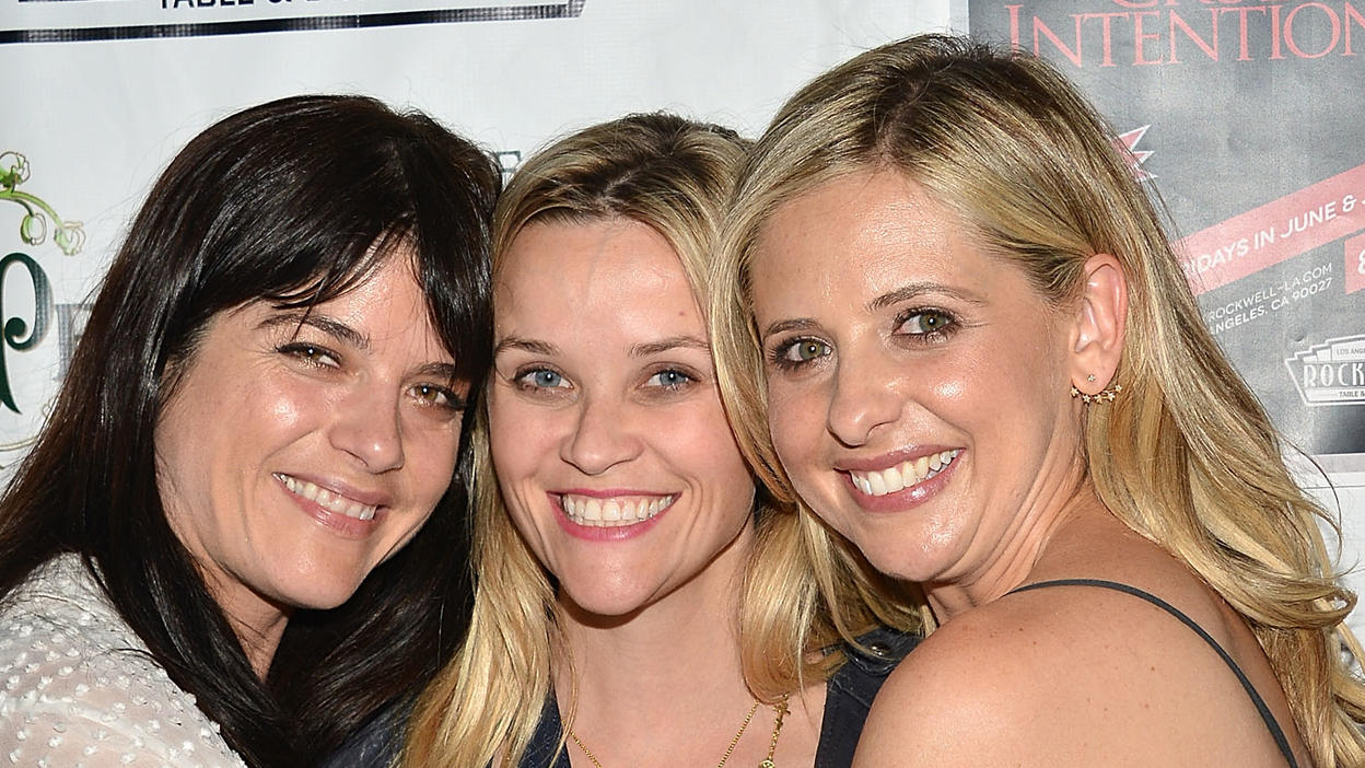 Selma Blair, Reese Witherspoon und Sarah Michelle Gellar 2015 in Los Angeles