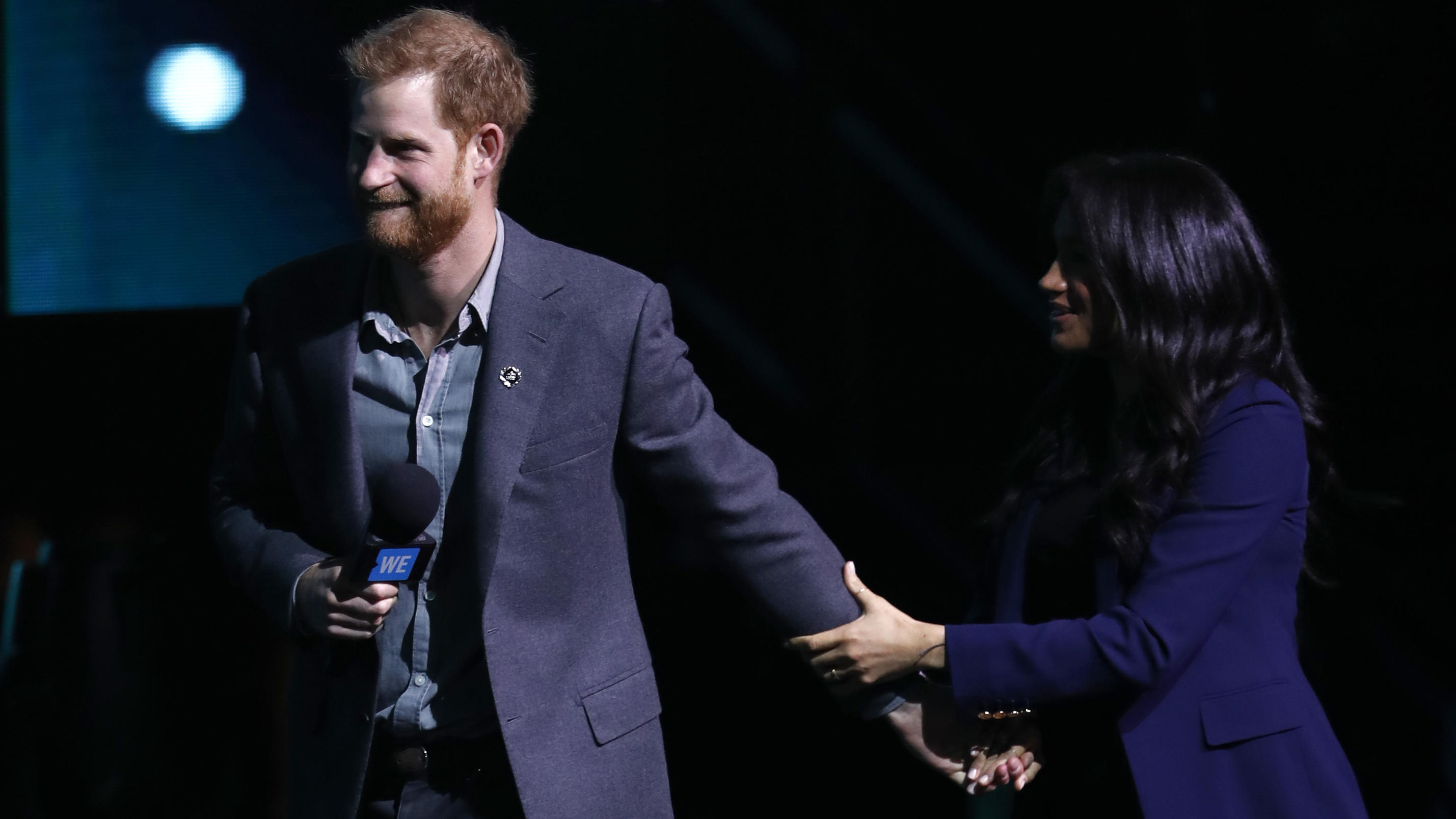 Prinz Harry und Herzogin Meghan beim WE Day in London, März 2019