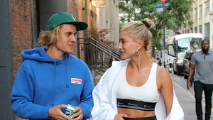 Justin Bieber happy mit Hailey