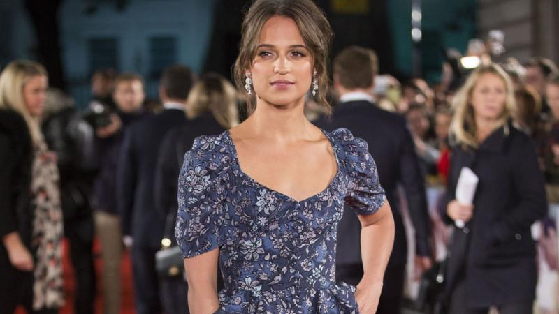 Alicia Vikander: Second-Hand-Kleidung