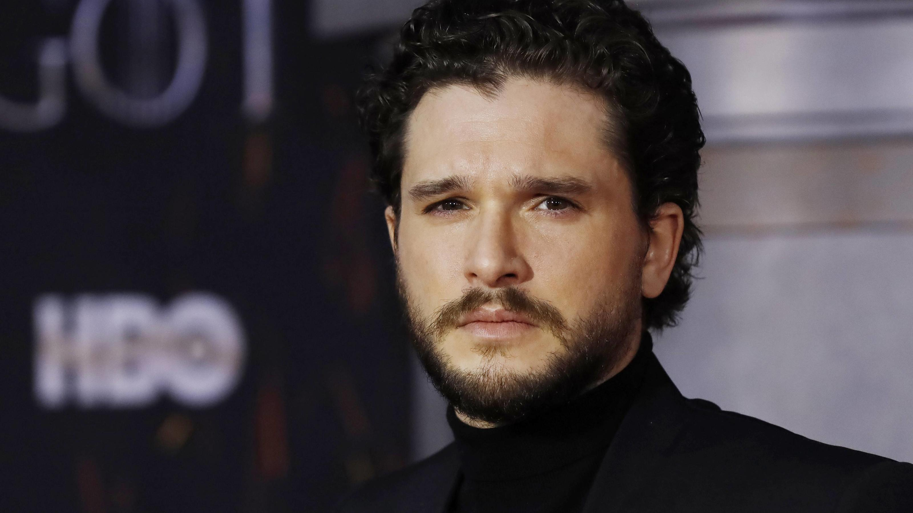 "Kit Harington bei der Premiere der finalen ""Game of Thrones""-Staffel."
