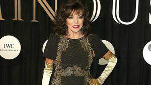 Joan Collins: Feuer in ihrem Apartment!