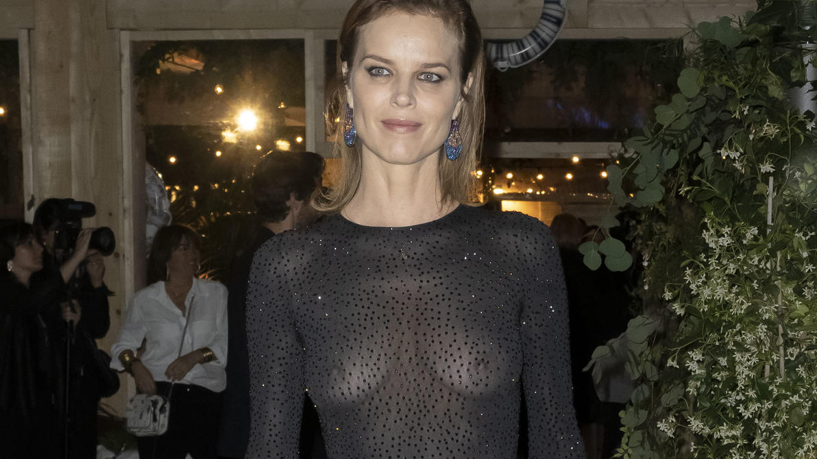CANNES, FRANCE - MAY 15: (EDITOR'S NOTE: Image contains nudity)  Eva Herzigova is seen at the Dior Dinner during the 72nd annual Cannes Film Festival on May 15, 2019 in Cannes, France. (Photo by Arnold Jerocki/GC Images)