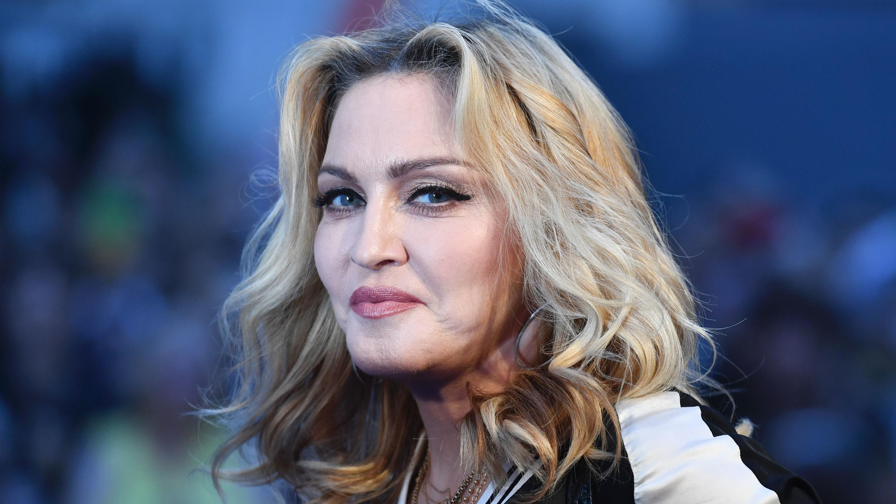 "Madonna beim Screening von ""The Beatles Eight Days A Week: The Touring Years"" 2016 in London."