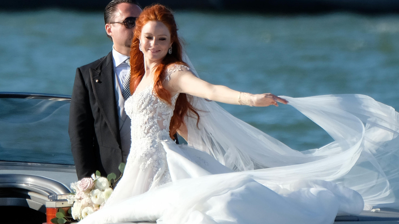 Barbara Meier trug an ihrem Hochzeitstag drei verschiedene Kleider