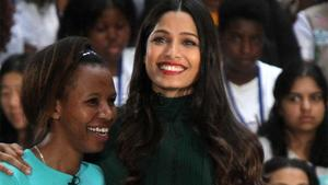 Freida Pinto in 'Hillbilly Elegy'